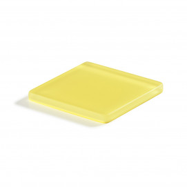 Mealplak lemon square coaster Nacryl