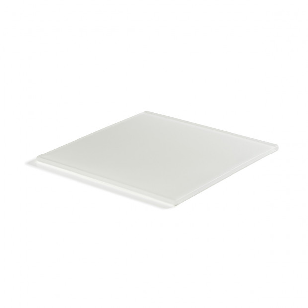 Mealplak white square tray Nacryl