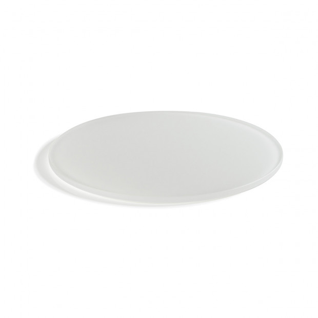 "Mealplak white round tray ø11.75"" Nacryl"