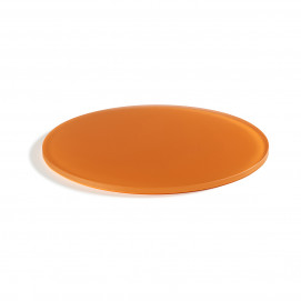 "Mealplak mandarin round tray ø11.75"" Nacryl"