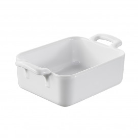 Belle Cuisine white individual rectangular baking dish