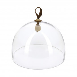"Inspired by Revol glass dome ø10.75"" for cheese and charcuterie"