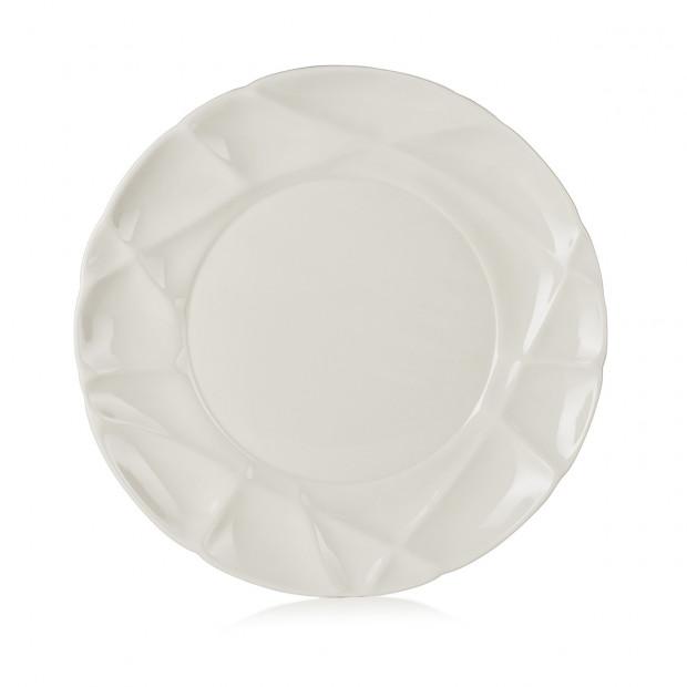 "Set of 4 Succession dinner plates ø10.25"" 2 colors"