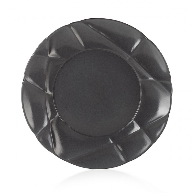 "Succession dessert plate ø8.25"" 2 colors"