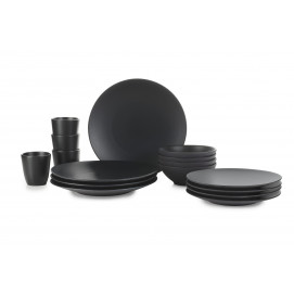 Set of 16 pieces Equinoxe black cast iron style