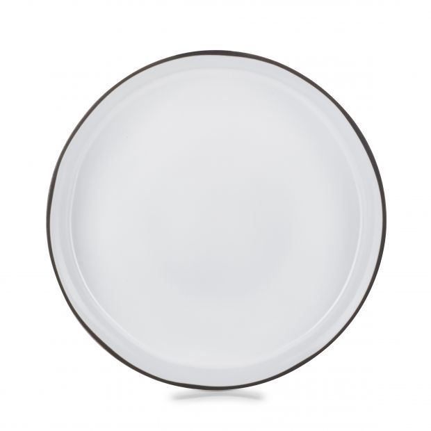 serving bowl Ø12.75 caractere, white cumulus