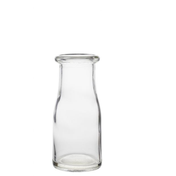 individual glass bottle