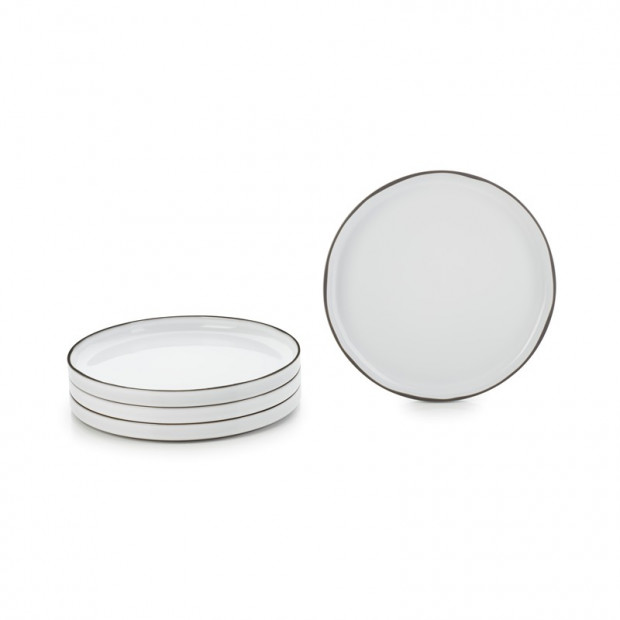 s/4 dinner plate 10.25inch 7 colors, caractere