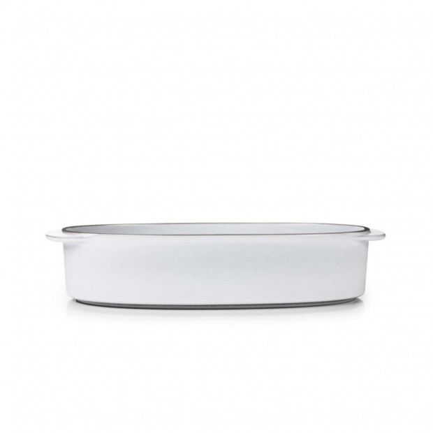 "Rectangular Oblong Dish 10.25"" x 7.25"" Caractère, 4 colors"