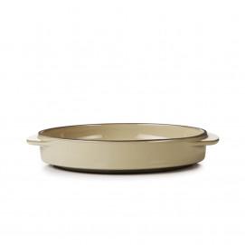 Round Dish Caractère, 4 colors