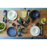 "Arborescence dinner plate ø10.5"" 3 colors"