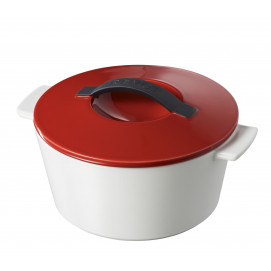 "Revolution round dutch oven pepper red ø7.5"" induction"