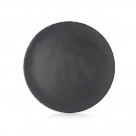BASALT ROUND FLAT PLATE 28,5CM
