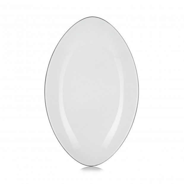 EQUINOXE OVAL PLATE 35CM