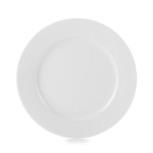 Set of 4 French Classics white dessert plates 8,25 inches