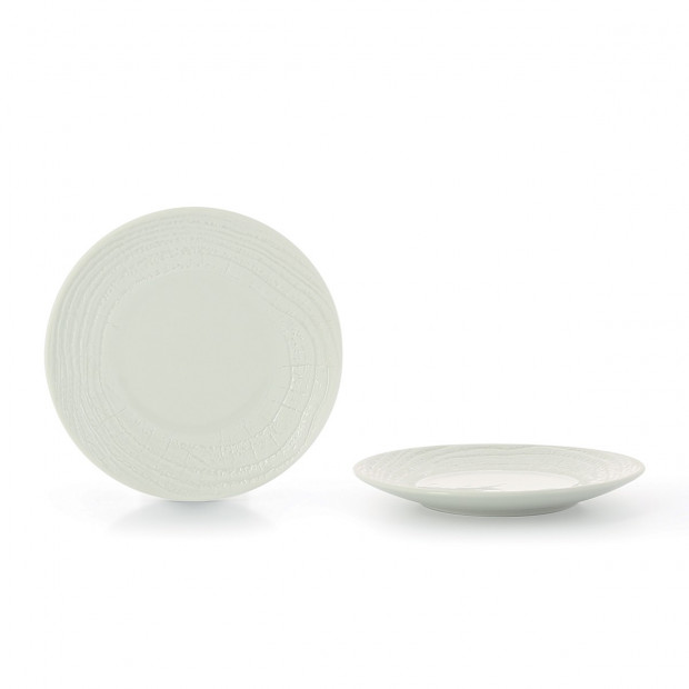 "Arborescence dinner plate ø10.5"" 3 colors"