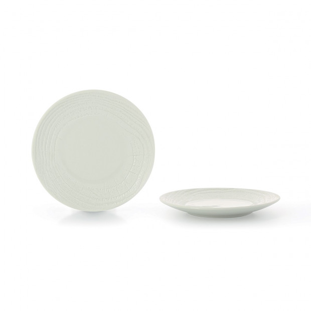 "Arborescence salad plate ø8.5"" 3 colors"