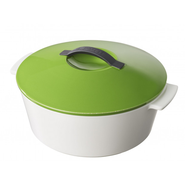 "Revolution round dutch oven lime green ø8.75"" induction"