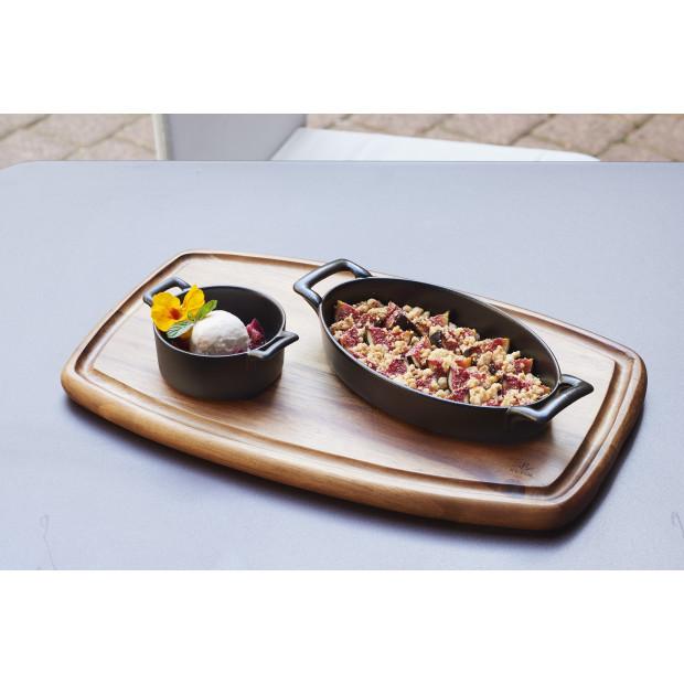 Belle cuisine black cast iron style ramekin
