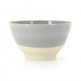 Bol coloré en porcelaine - Gris Stratus