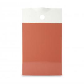 Planche de présentation colorée en porcelaine - Orange Capucine