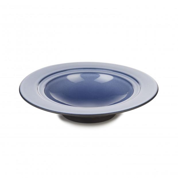 Assiette creuse Dim Sum - Bleu Cirrus