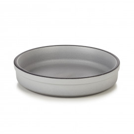 Assiette Catalane en porcelaine - Poivre