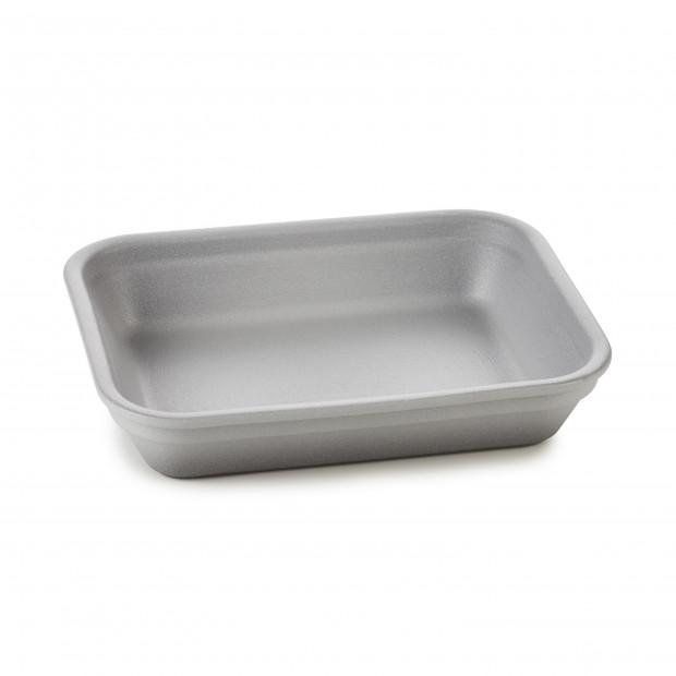 Plat rectangulaire en porcelaine - Poivre