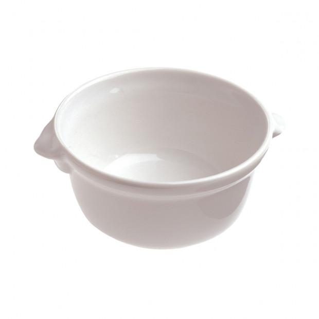 cocotte à anses en porcelaine blanche - french classics