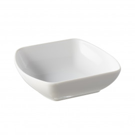 coupelle en porcelaine blanche - club