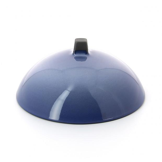 Cloche pour Dim Sum en porcelaine - Bleu Cirrus