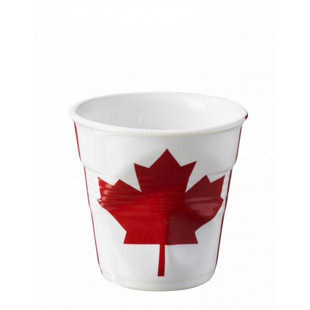 Froissé espresso décoré Canada