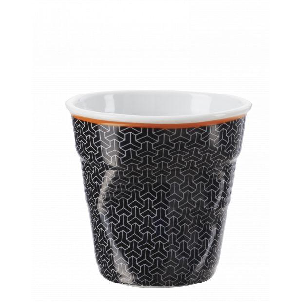 Froissé espresso décoré Melie