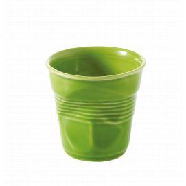 Froissé espresso uni Vert