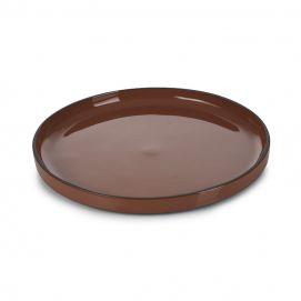 Assiette Caractère Cannelle