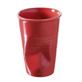 Verre à eau Froissé 25cl en porcelaine
