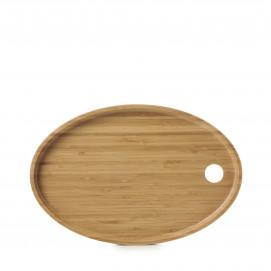 Plateau pour assiette ovale Basalt