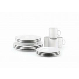 Coffret de 16 pièces pour la table en porcelaine