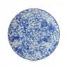 Assiette Plate en Porcelaine Equinoxe Edition Collector - Ocean Vibes - 16 à 31,5 cm