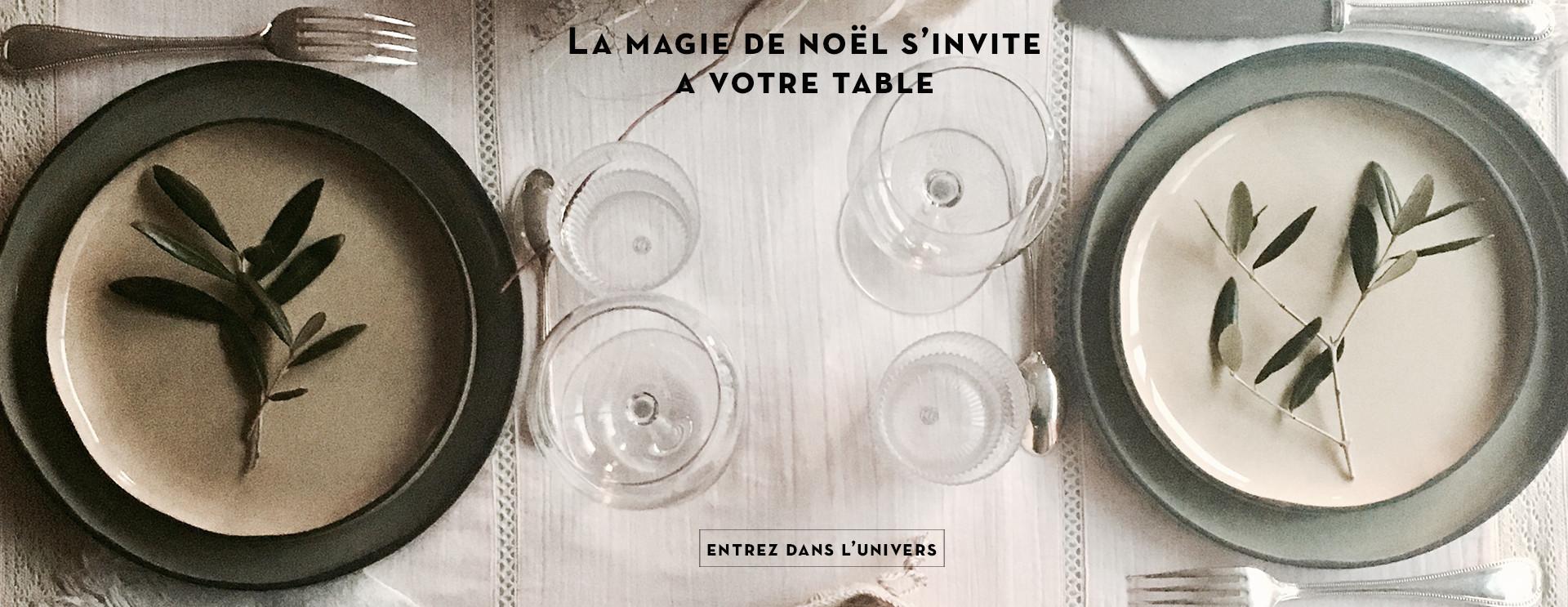 La magie de noël s'invite à votre table