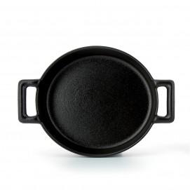 Oval crème brûlée oven dish in porcelain