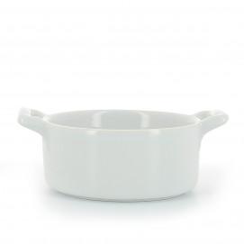 Round porcelain ramekin