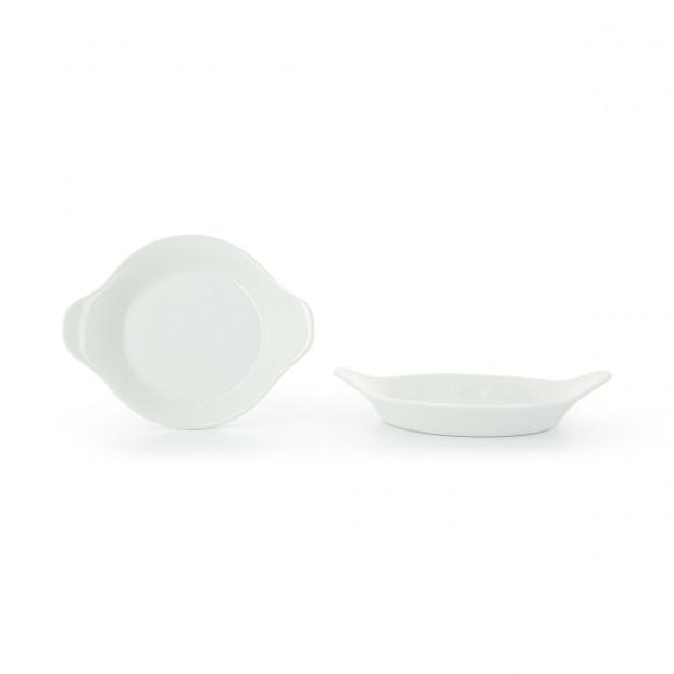 Porcelain egg dish