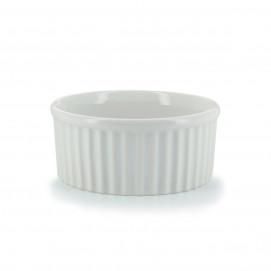 Individual porcelain soufflé dish