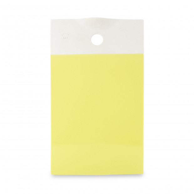 Coloured porcelain gourmet tray - Citrus Yellow