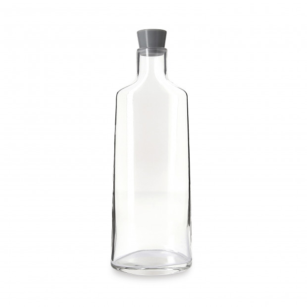 Glass carafe with stopper