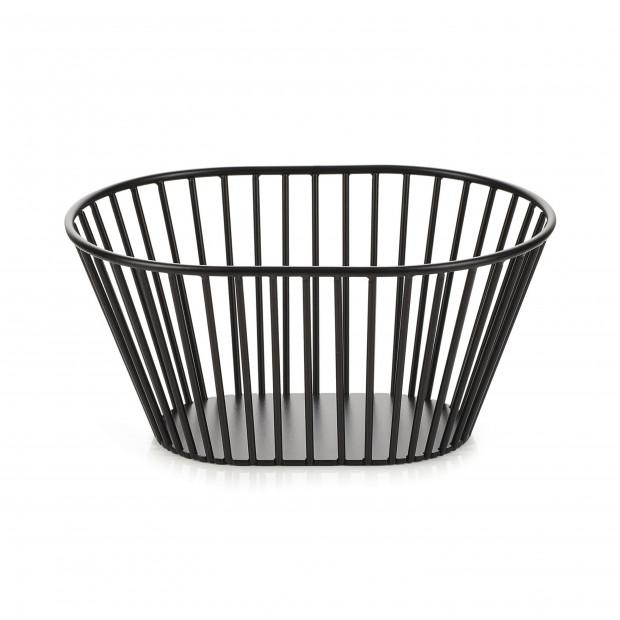 High oval bread basket
