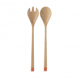 Serving cutlery in beech