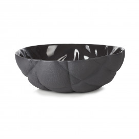Porcelain salad bowl - Black
