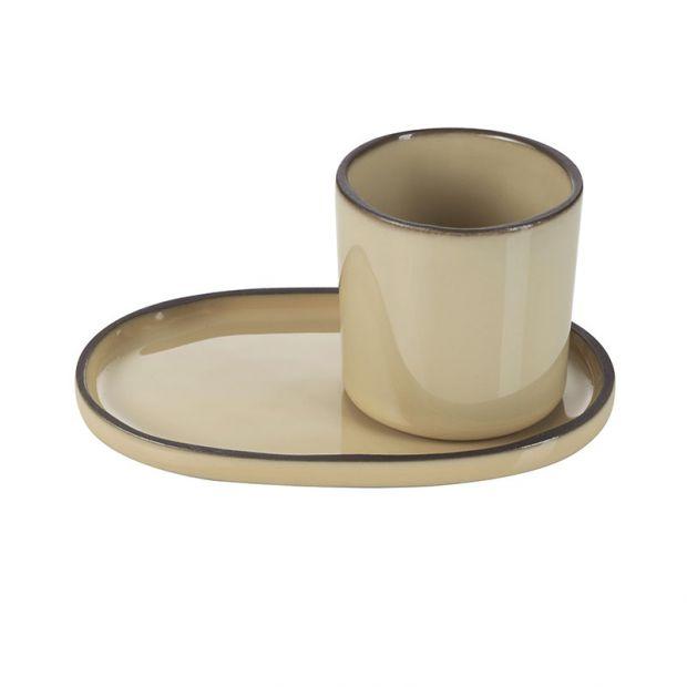 ceramic cup Caractère Nutmeg